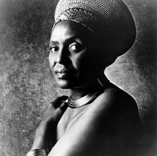 Portrait de Miriam makeba