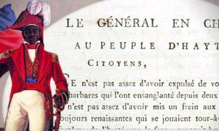 3 leçons à tirer de l'acte indépendance d'Haïti