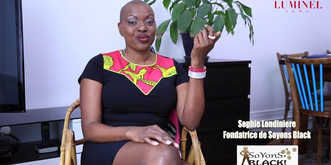 Sophie LONDINIERE Créatrice de la marque Soyons Black !
